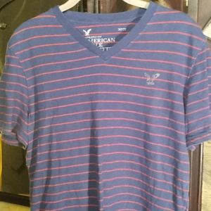 Men's American Eagle V Neck Tee